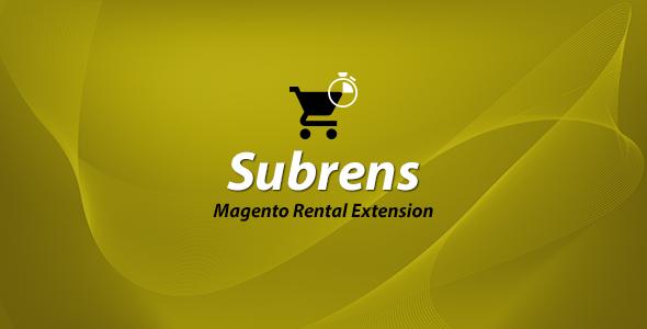 Magento Rental Extension